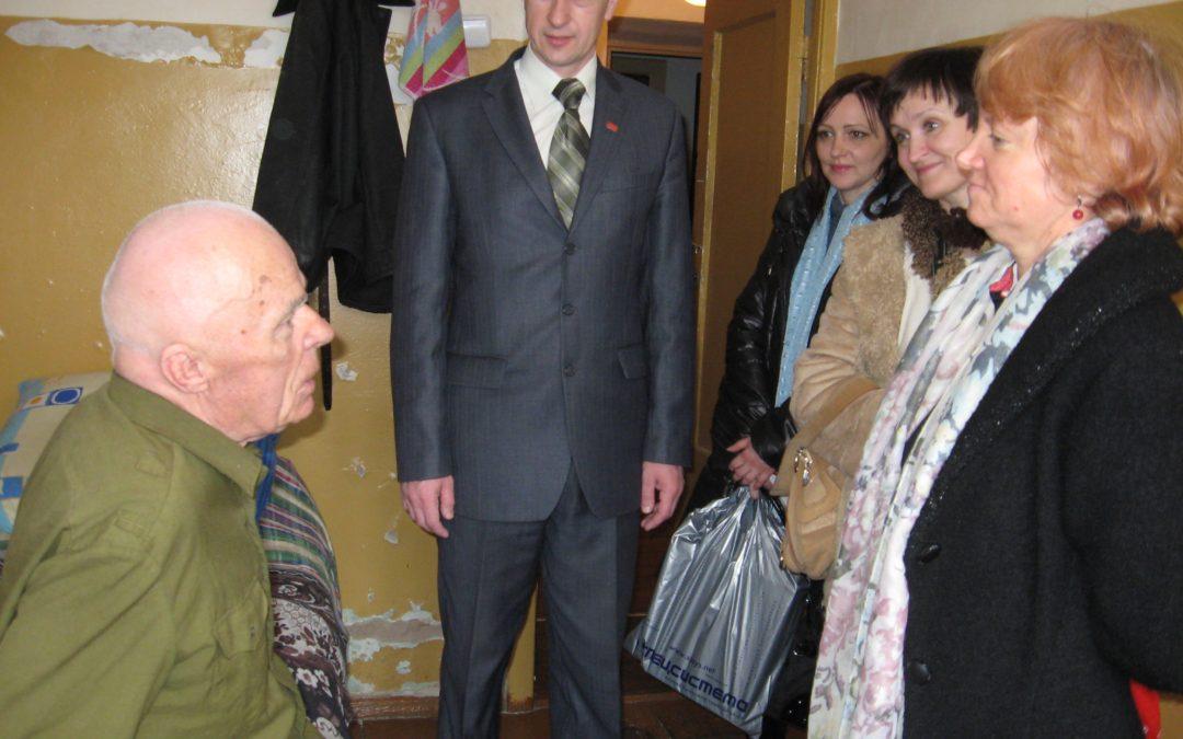 Посещение Вороновского дома-интерната для престарелых и инвалидов (Витебский район), 13 апреля 2014г. ,