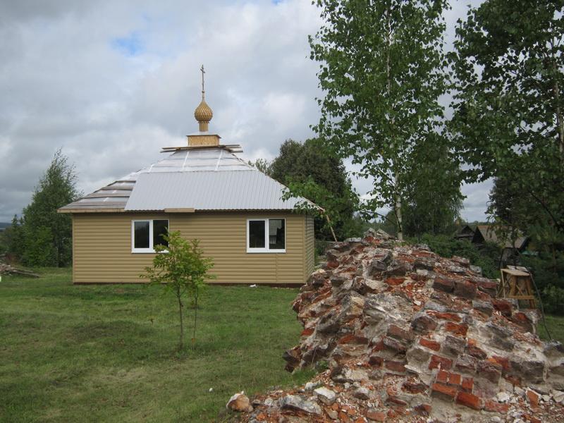 Возрождается Свято-Успенский монастырь