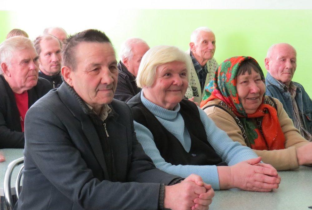 Благотворительная акция «Подарите радость старикам» 10 марта 2016г. Вороновский дом-интернат для престарелых и инвалидов