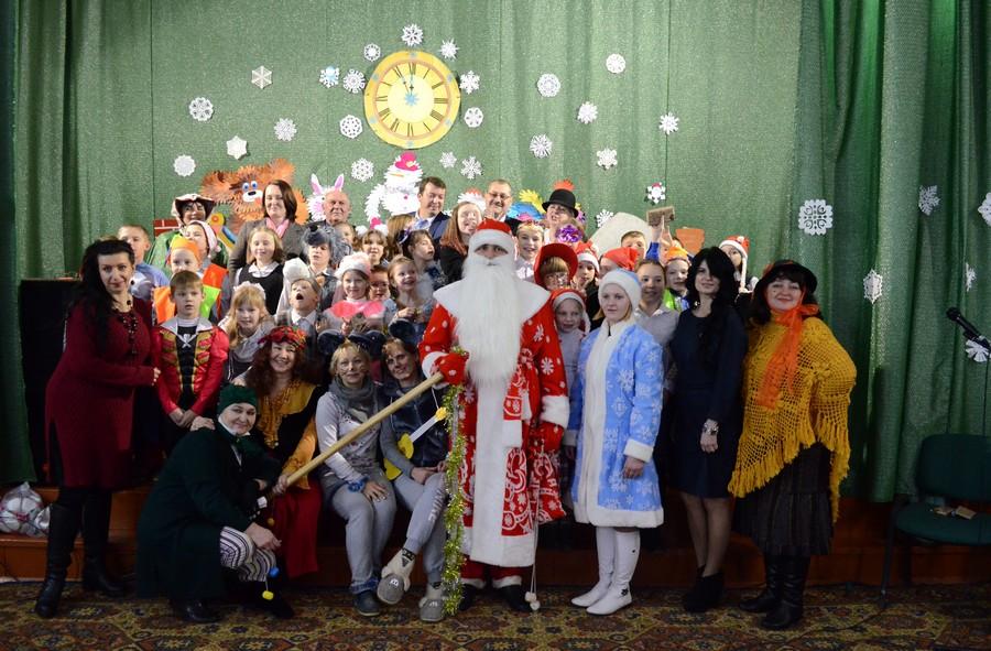 Благотворительная поездка в Богушевскую школу-интернат