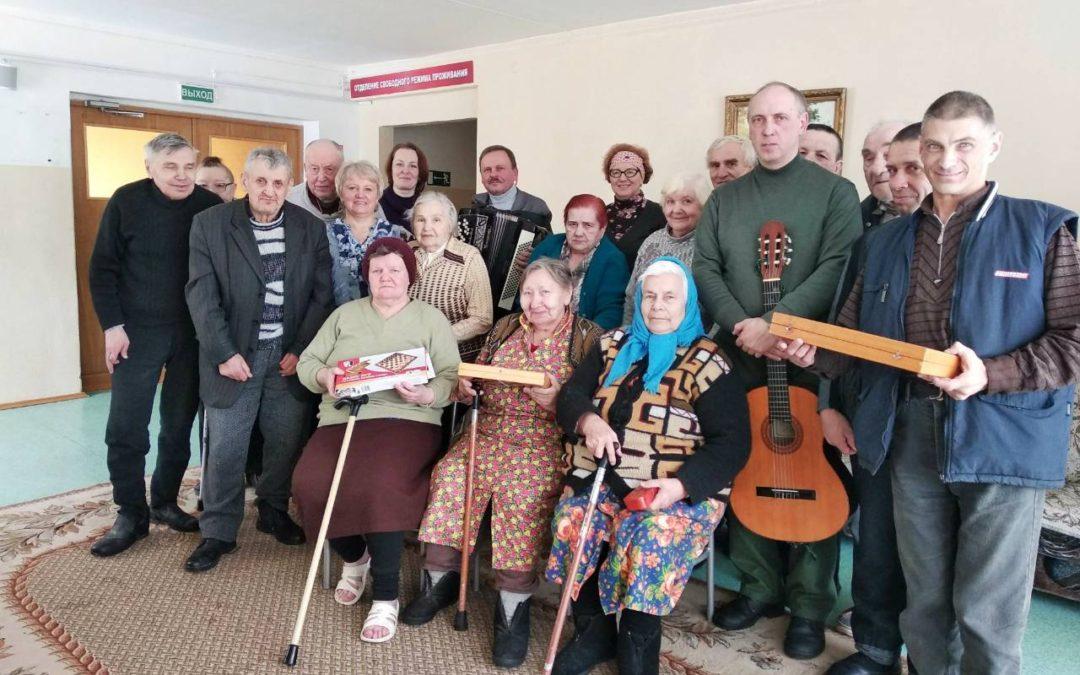 Поездка 7 марта 2018 г. в Вороновский дом-интернат для пожилых людей и инвалидов